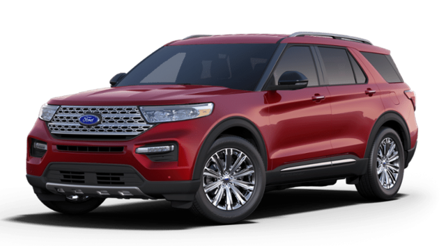 New 2020 Ford Explorer Limited SUV in Coon Rapids, IA